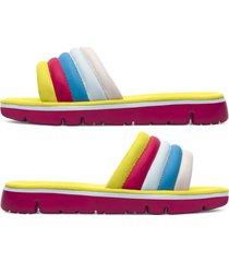 camper twins, sandalias mujer, amarillo/azul/rosa, talla 42 (eu), k200905-002