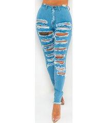 akira hotel california distressed skinny jeans