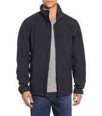 men's helly hansen paramount water resistant softshell jacket, size medium - black