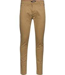 bhnatan pants noos chinos byxor beige blend