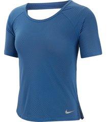 t-shirt korte mouw nike breathe miler top ss women