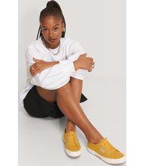 superga märkessneakers - yellow
