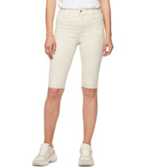 sanctuary cutoff bermuda shorts