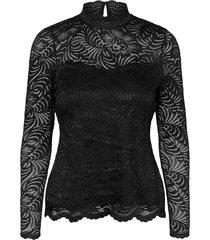 janne highneck lace top