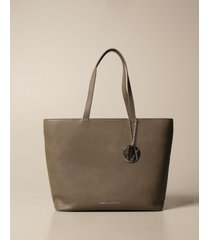 armani exchange tote bags armani exchange shoulder bag in synthetic textured leather