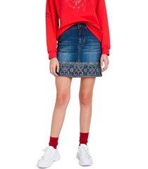 jeanskjol denim skirt mini