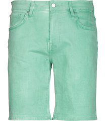 guess denim bermudas