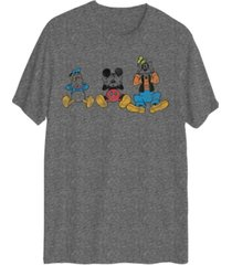 men's group mickey short sleeve graphic t-shirt