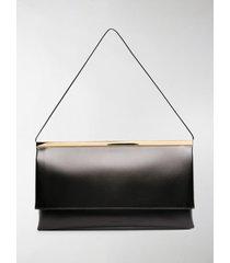 jil sander lucio leather shoulder bag