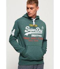 superdry men's logo hoodie