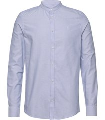 christoph mandarin shirt overhemd business blauw les deux