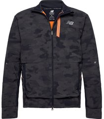 reflective impact run winter jacket outerwear sport jackets blauw new balance
