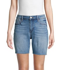 joe's jeans women's bermuda denim cutoff shorts - melbourne - size 25 (2)