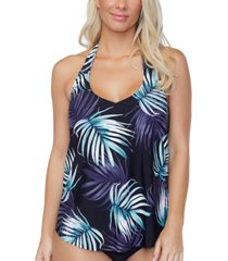 island escape namaste underwire tankini top, created for macys women's swimsuit