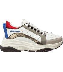 scarpe sneakers uomo in pelle bumpy