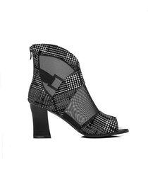 nuevas sandalias de tacón alto tipo peep toe para mujer ventilate chunky