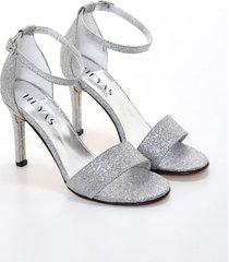 sandalia plata heyas casca