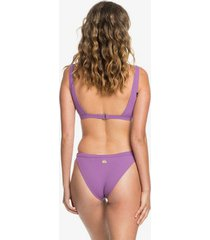 quiksilver womens rib knit bikini bottoms