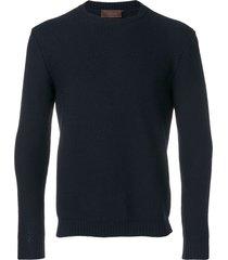 altea slim fit sweater - blue
