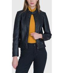 chaqueta ash negro - calce ajustado