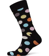 big dot sock underwear socks regular socks svart happy socks