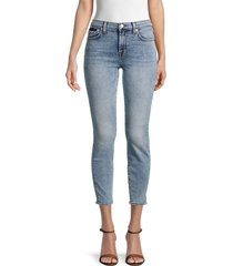 7 for all mankind women's ankle skinny jeans - camrose - size 33 (12)