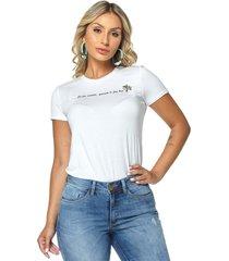 t-shirt daniela cristina gola u 01 602dc10276 branco - branco - feminino - dafiti