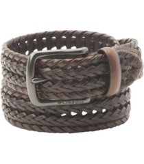 columbia two-tone braided belt