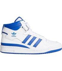 zapatilla blanca adidas originals forum mid
