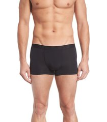 men's hanro micro touch boxer brief, size x-large - black