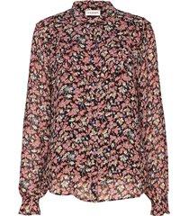 maria blouse lange mouwen roze custommade