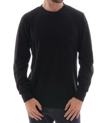 terry pullover sweater - black 21682-blk