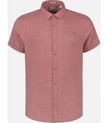 dstrezzed linnen overhemd oud roze