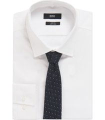 boss men's italian-made silk tie