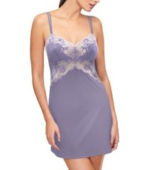 wacoal lace affair lace & satin chemise nightgown 812256