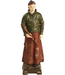 escultura decorativa de resina dinastia qing