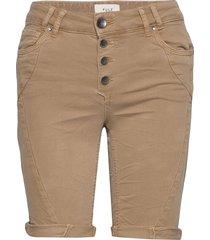 pzrosita shorts shorts denim shorts beige pulz jeans