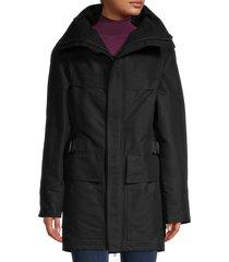 balenciaga women's parka coat - black - size 34 (2)