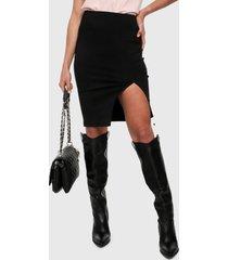 falda negro active