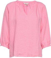 hikmapw bl blouse lange mouwen roze part two