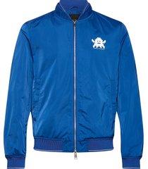 armani exchange blouson jacket bomberjack jack blauw armani exchange