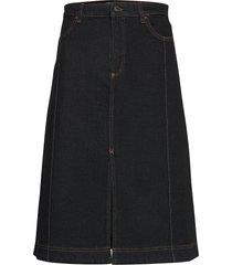 sadie knälång kjol svart baum und pferdgarten