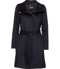 coats woven yllerock rock blå esprit collection
