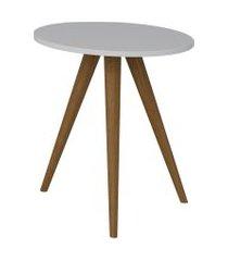 mesa lateral 500 branco tx be mobiliário
