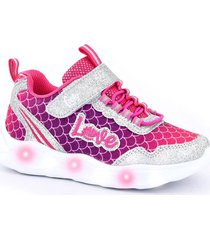 zapatilla rosa footy wow love