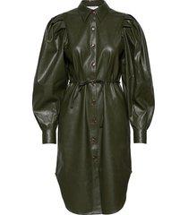 marie sleeve dress dresses shirt dresses grön designers, remix