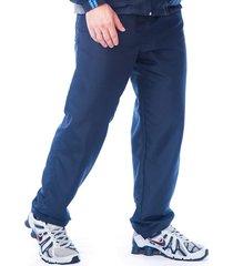 calça butu biru tactel microfibra azul-marinho