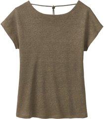 linnen-jersey shirt, kwarts 36/38