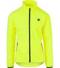 agu regenjas go jacket neon yellow-xxl