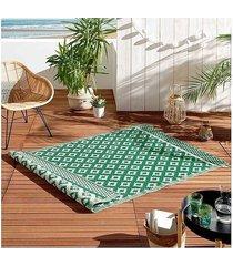 dywan mata na taras balkonowa emilly green